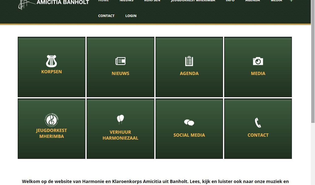 Webiste Amicitia