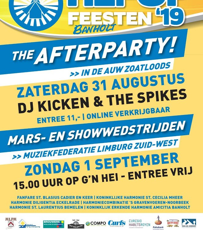 After party Hei op