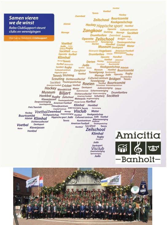 Rabo support Amicitia